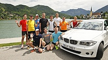 BMW Laufblogger-Camp 2013 am Tegernsee